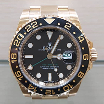 JW254 - GMT Master II full yellow gold 116718LN